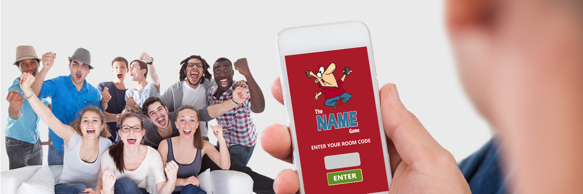 Mobile family game and party game- The Name Game